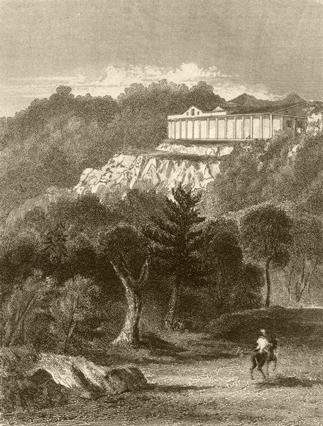 Associate Product KENT. Seven Oaks, Kent. DUGDALE 1845 old antique vintage print picture