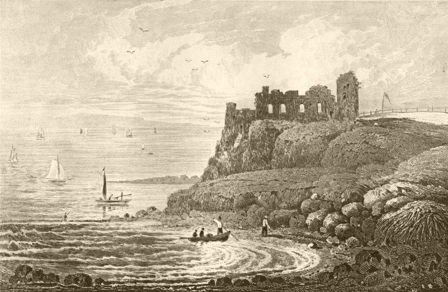 Associate Product DORSET. Weymouth Castle, Dorsetshire. DUGDALE 1845 old antique print picture