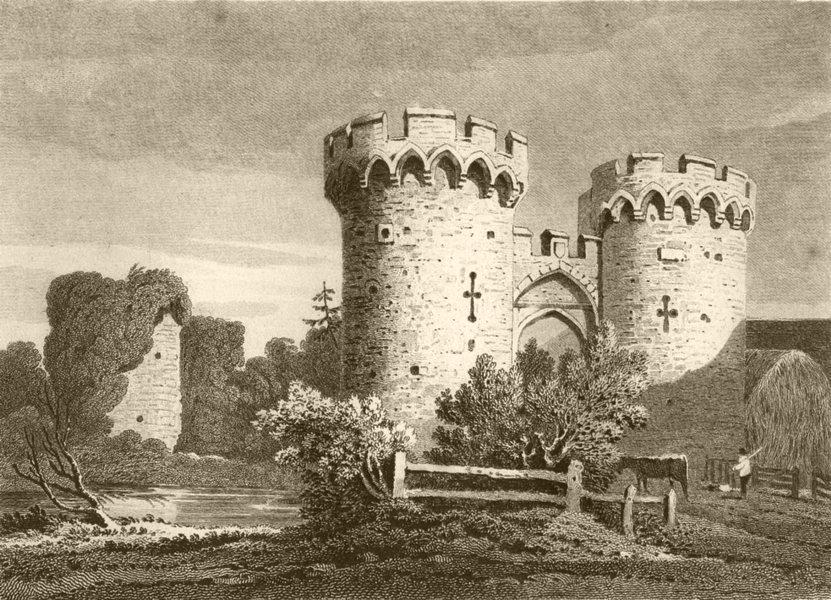 Associate Product KENT. Cooling Castle, Kent. DUGDALE 1845 old antique vintage print picture
