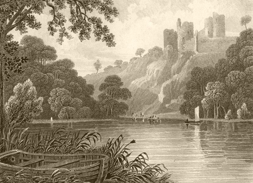 Associate Product WALES. Cilgarron Castle, Pembrokeshire. DUGDALE 1845 old antique print picture