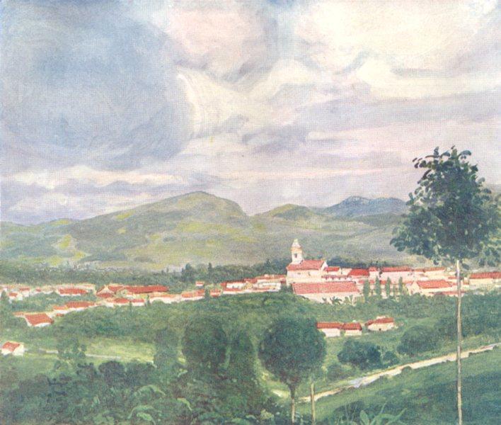 Associate Product BRAZIL. Porciuncula 1908 old antique vintage print picture