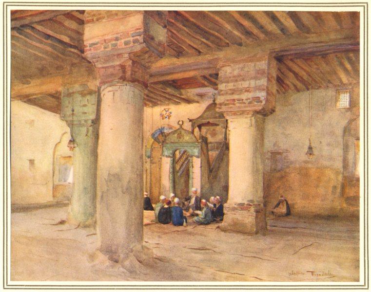 Associate Product EGYPT. The Mosque at Al-Qusair 1912 old antique vintage print picture