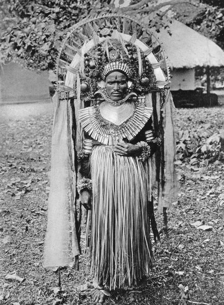 Associate Product INDIA. Southern India. Nalke Devil-dancer;  1900 old antique print picture