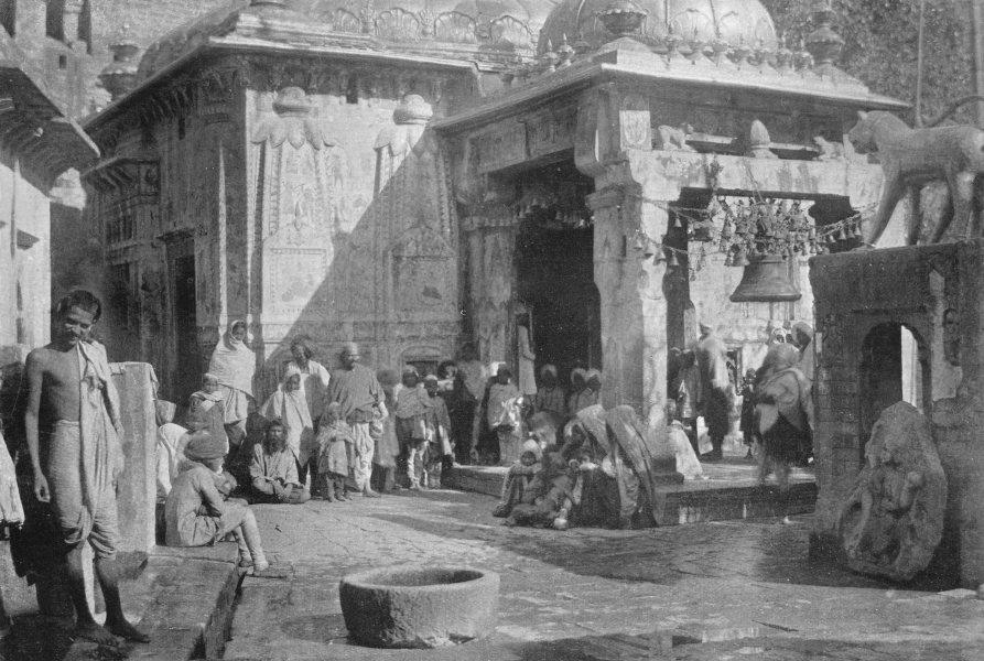 Associate Product INDIA. The Temple of Jawala-mukhi; K'angra valley Punjab, Beas river 1900