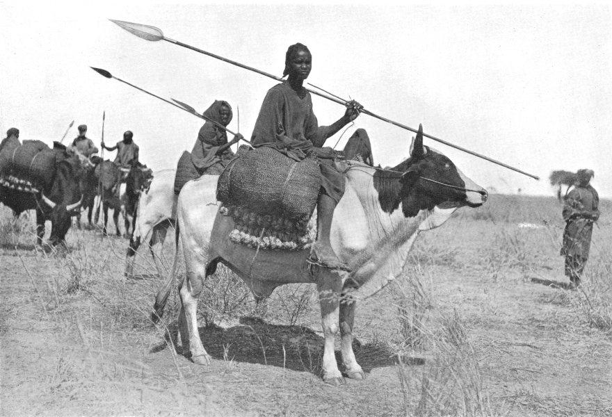 Associate Product SUDAN. The Southern Sudan. Baqqara Arabs, Kurdufan; Mahdi supporters 1900