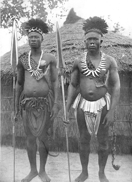 Associate Product CONGO. Kele Chiefs; live right bank of 12 miles below Stanley falls 1900 print
