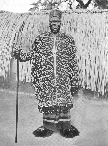Associate Product WEST AFRICA. A Chief, Jukun Tribe; Wukari; south of Benue district 1900 print