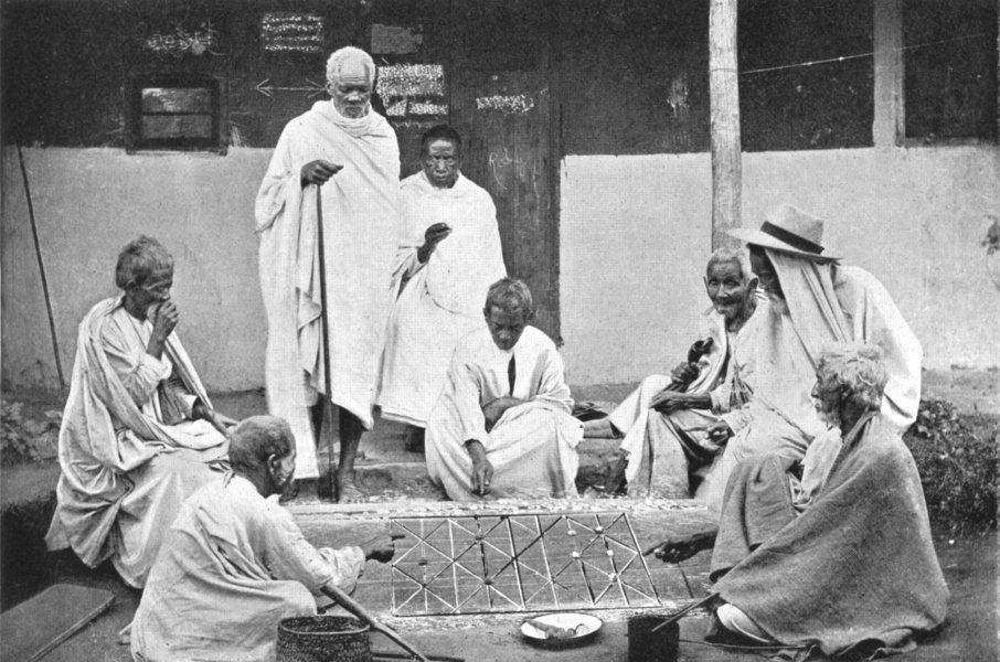 Associate Product MADAGASCAR. Natives Gambling; Malagasy Sakalava 1900 old antique print picture