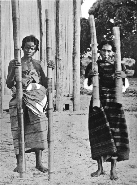 Associate Product MADAGASCAR. Betsimisaraka Water-Carriers;  1900 old antique print picture