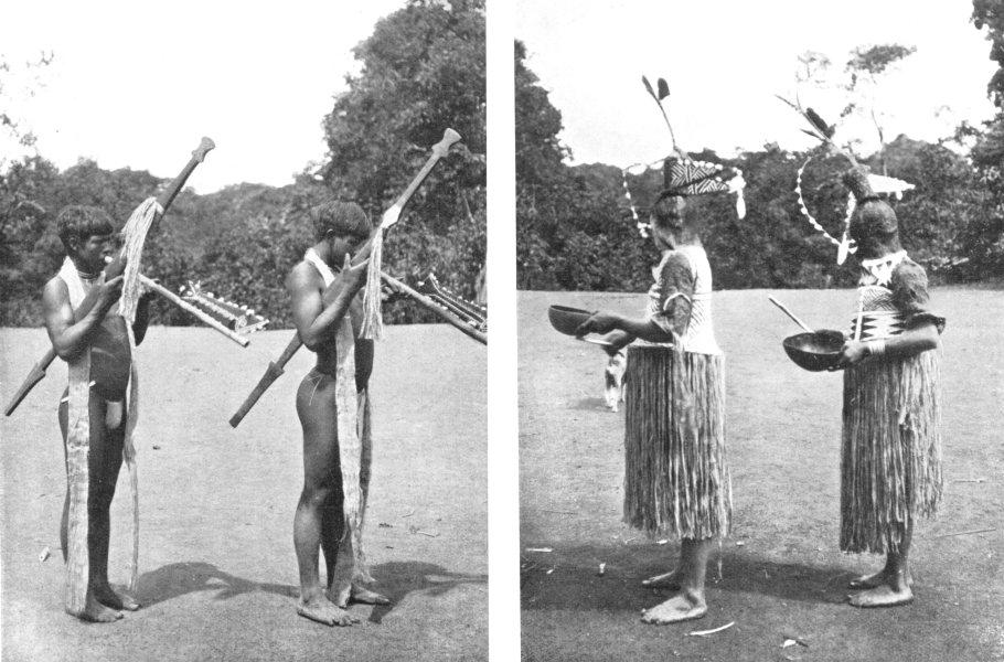 Associate Product VENEZUELA.Cubeo Kobeuan Dances;Death festivals take place every 10-15 years 1900