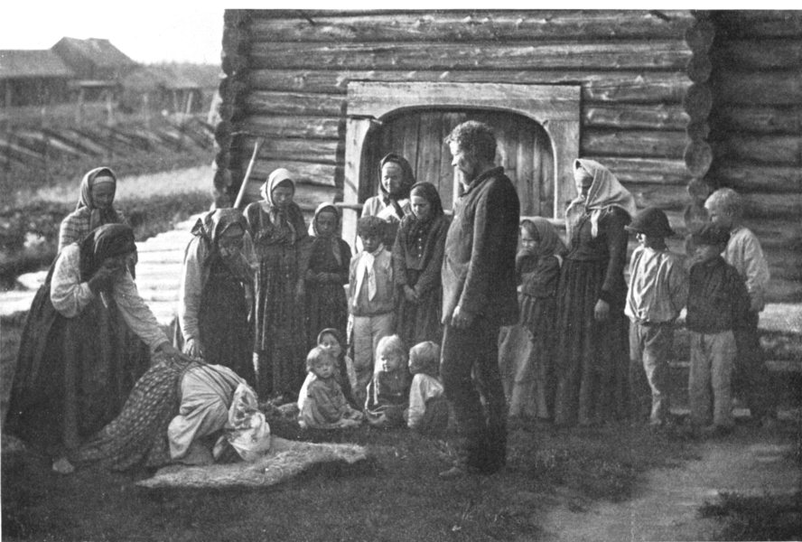 Associate Product FINLAND. The Incantation scene on the Rug; bless journey. Amadon 1900 print
