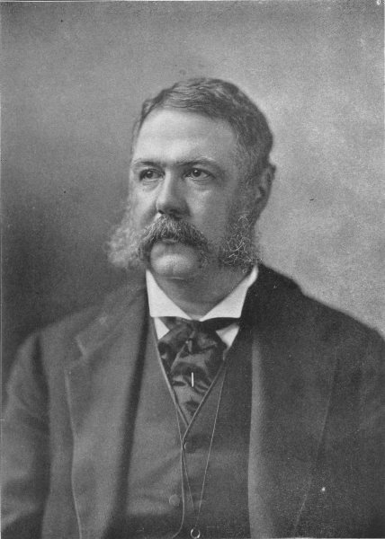 Associate Product USA. Chester Alan Arthur 21st President of the United States 1907 old print