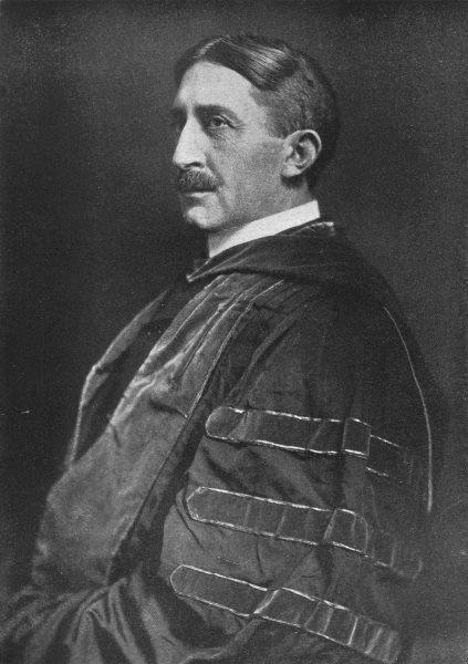 Associate Product VIRGINIA. Edwin Anderson Alderman; President of University of Virginia 1907