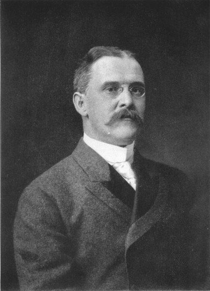 CALIFORNIA. Benjamin Ide Wheeler; President, University of 1907 old print