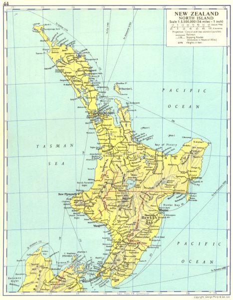 New Zealand North Map.Details About New Zealand New Zealand North Island 1962 Old Vintage Map Plan Chart