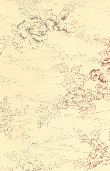 Associate Product JAPAN. Industrial Model. Peonies 1890 old antique vintage print picture