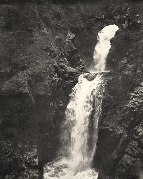 Associate Product CORRÈZE. Cascade de Gimel (1)  1900 old antique vintage print picture