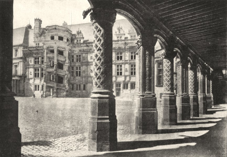 Associate Product LOIR- - CHER. Chateau Blois. Galerie Intérieure, Dite ( (Perche Bretons) )  1900