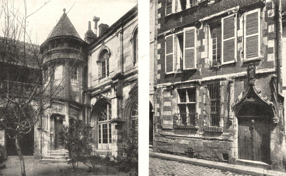 Associate Product INDRE- - LOIRE. Tours. Ancien Cloitre Chapitre; Maison Tristan L'hermite 1900