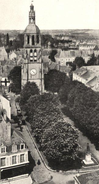 Associate Product LOIR- ET- CHER. Vendôme. La Tour Saint- Martin 1900 old antique print picture