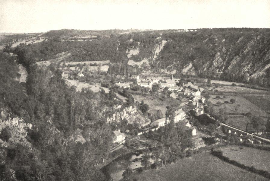 Associate Product SARTHE. Les Alpes Mancelles. Saint- Léonard- des- bois 1900 old antique print