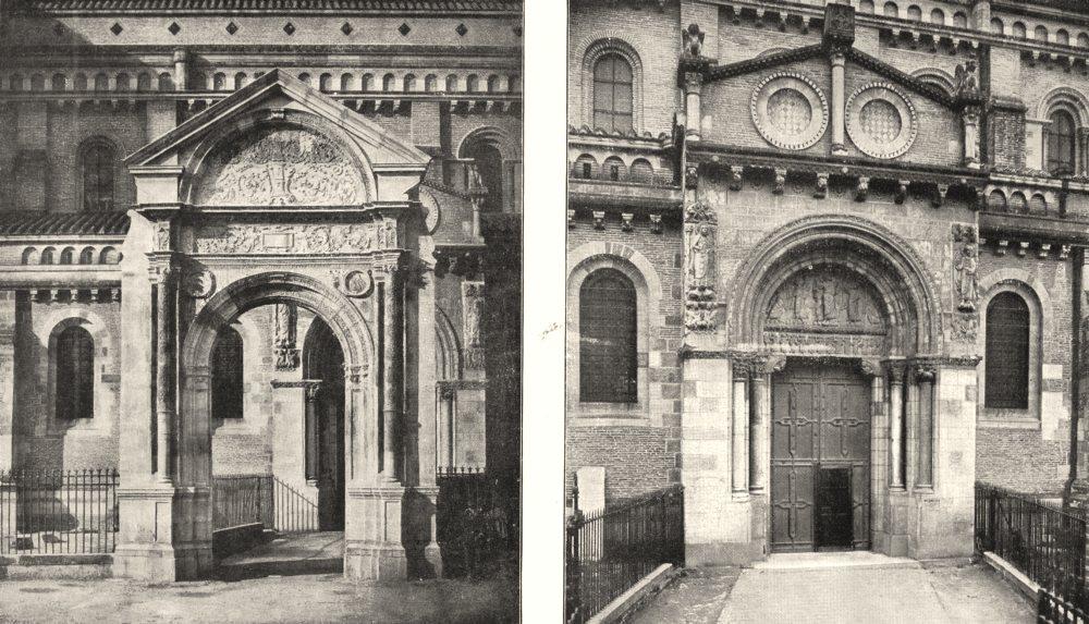 Associate Product HTE- GARONNE. Toulouse. Porte Renaissance, St- Sernin; . Miégeville  1900