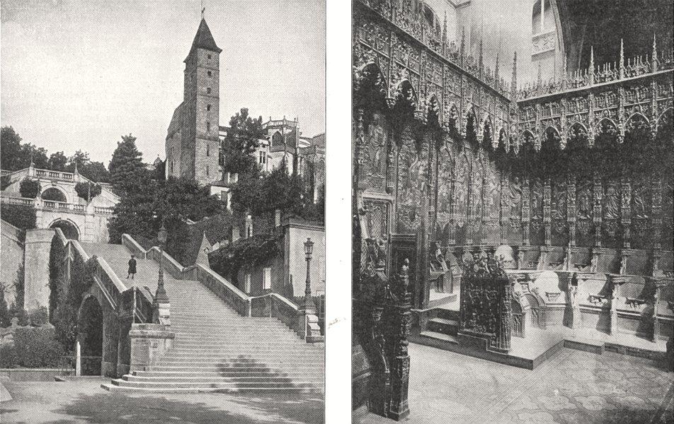 Associate Product GERS. Auch. Escalier Monumental tour Pénitencier; . Stalles Cathédrale 1900