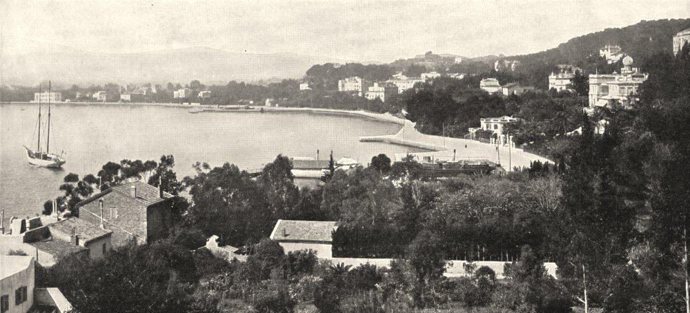 Associate Product VAR. Toulon. Tamaris, la Côte 1900 old antique vintage print picture