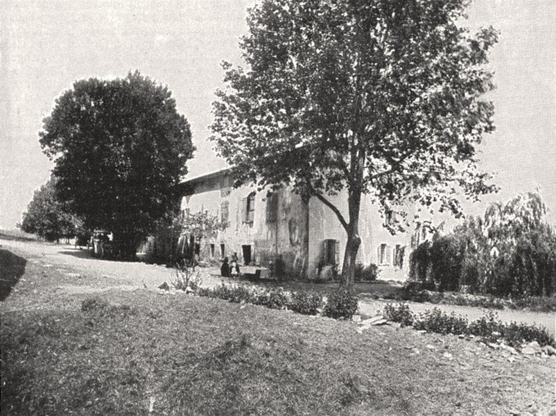 Associate Product VAR. Estérel. L'auberge des Adrets 1900 old antique vintage print picture