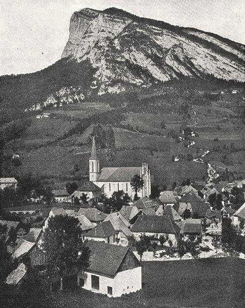 Associate Product FRANCE. Saint- pierre- D'entremont 1900 old antique vintage print picture