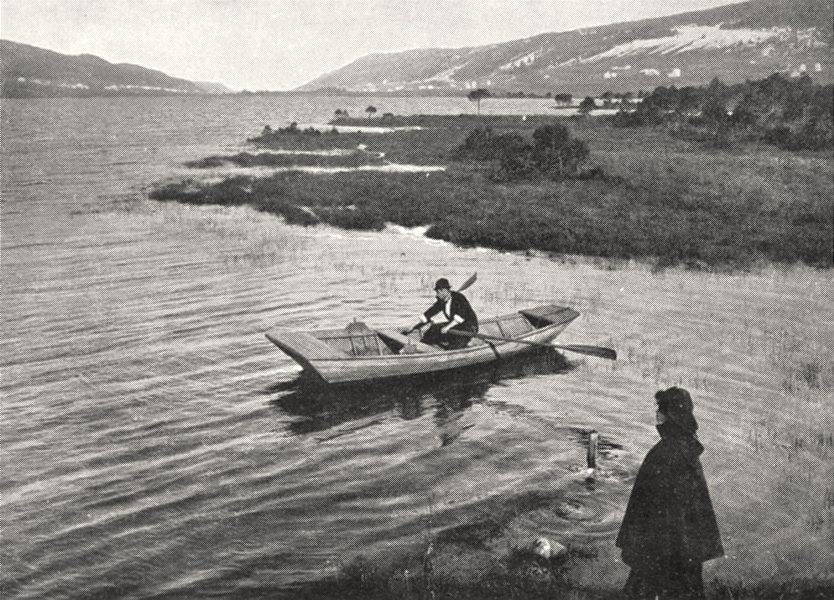 Associate Product JURA. Lac Rousses, dominé, L'ouest, Par Talus oriental Risoux 1900 old print