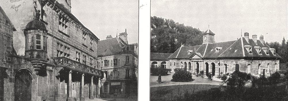 Associate Product HTE- SAÔNE. Luxeuil. Maison Card Jouffroy; Établissement Thermes 1900 print