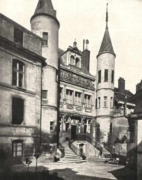 Associate Product AUBE. Troyes. Hôtel de Vauluisant 1900 old antique vintage print picture