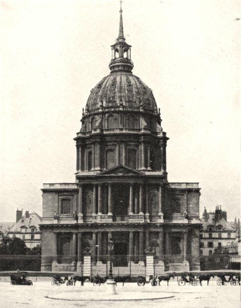 Associate Product PARIS. Hôtel des Invalides 1900 old antique vintage print picture