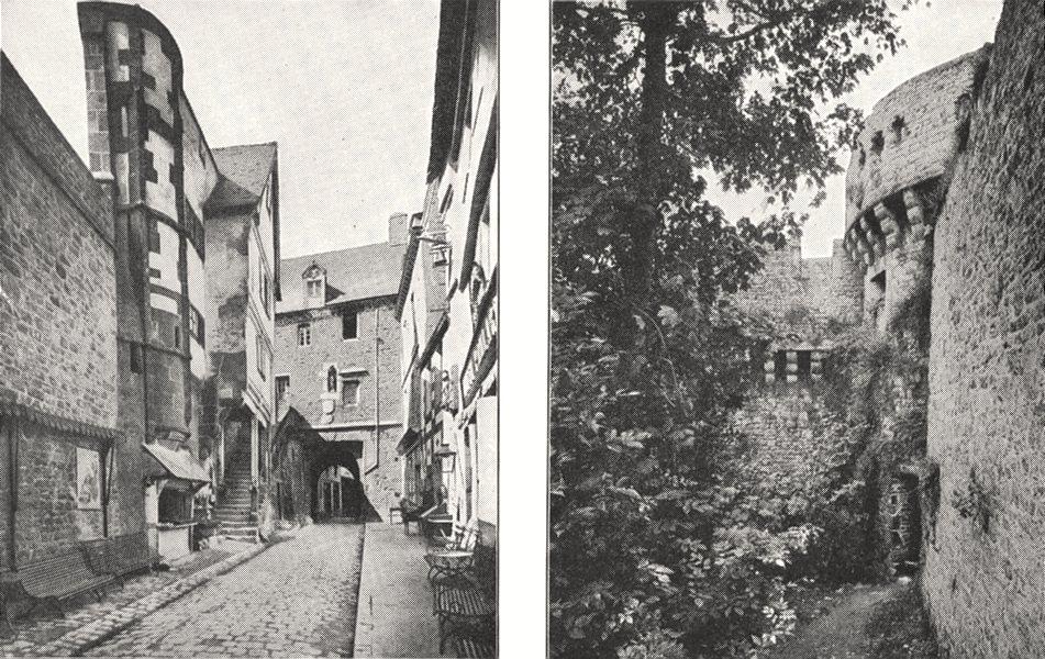 Associate Product MANCHE. Mont- Saint- Michel. Porte Roi; Mont- Saint- Michel. Tour Claudine 1900