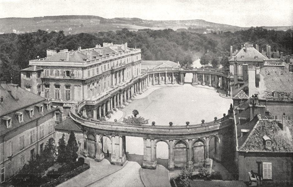 MEURTHE- ET- MOSELLE. Nancy. Place de la Carrière 1900 old antique print