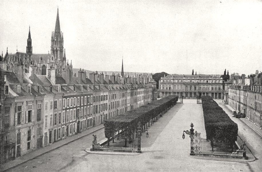 Associate Product MEURTHE- ET- MOSELLE. Nancy. Palais du Gouvernement 1900 old antique print