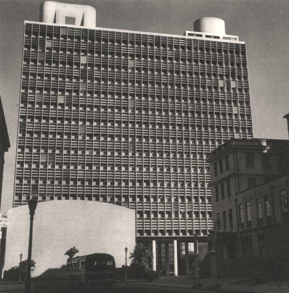 Associate Product BRAZIL. Rio de Janeiro. Ministry of Ministére de L'Éducation (1)  1951 print