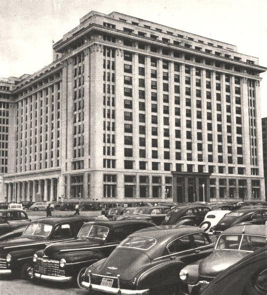 Associate Product BRAZIL. Rio de Janeiro. Le Ministére des Finances Ministry of Finance 1951