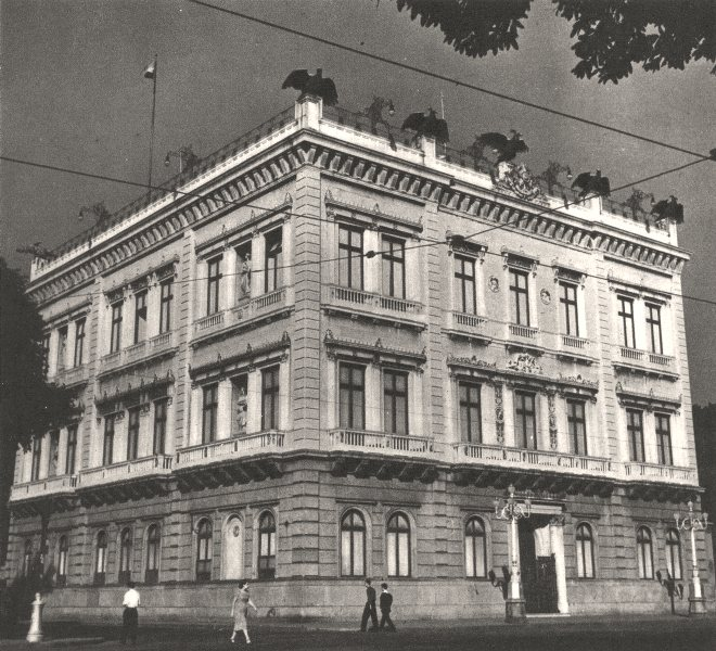 Associate Product BRAZIL. Rio de Janeiro. Le Palais du Catete 1951 old vintage print picture