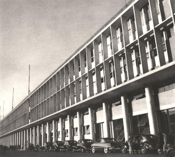 BRAZIL. Rio de Janeiro. Le Nouvel Aéroport de Santos- Dumont Airport 1951