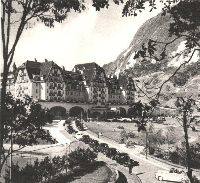 Associate Product BRAZIL. Rio de Janeiro. Hotel Quitandinha 1951 old vintage print picture