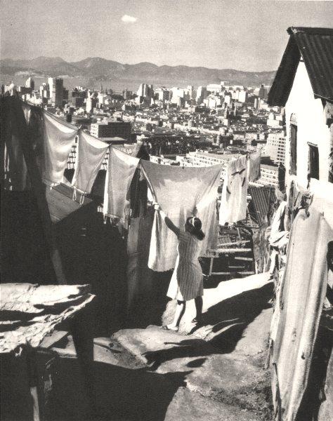 Associate Product BRAZIL. Rio de Janeiro. Blanchisseuse (1)  Washerwoman 1951 old vintage print