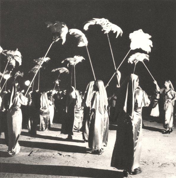 Associate Product BRAZIL. Rio de Janeiro. Carnaval Carnival (4)  1951 old vintage print picture