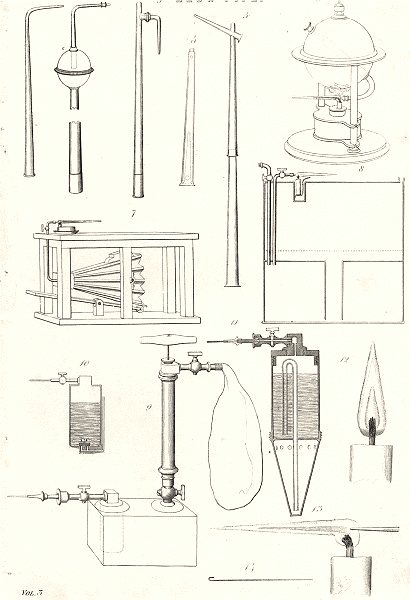Associate Product HUNTING. Blow Pipe 1880 old antique vintage print picture