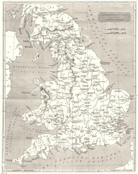 Associate Product UNITED KINGDOM. Britannia 1880 old antique vintage map plan chart