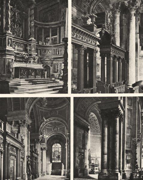 Associate Product LONDON. Peeps and Glimpses among the massive pillars of St. Paul's 1926 print