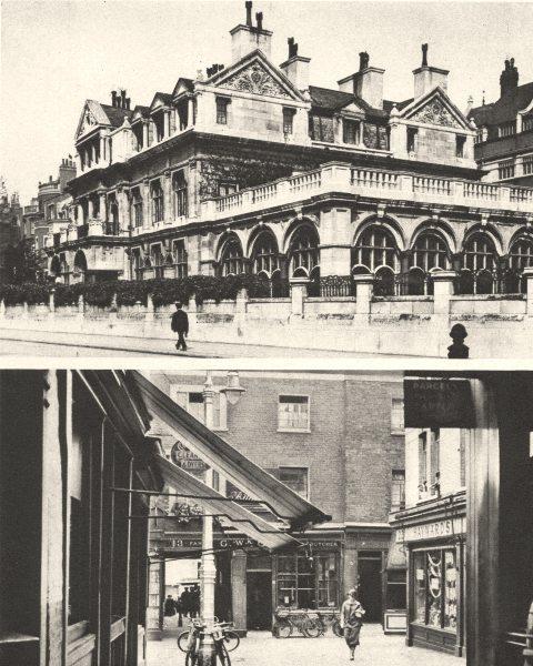 Associate Product LONDON. Mayfair. Aldford House, Park Lane. Shepherd Market 1926 old print