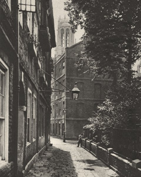 Associate Product LONDON. Clifford's Inn. Oldest & one of most important inns of Chancery 1926