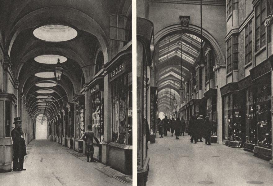 Associate Product LONDON. Oriental Bazaar copied in at Royal Opera & Burlington Arcades 1926